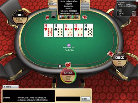 parameters of poker